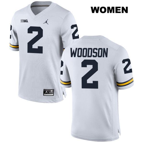 charles woodson white jersey